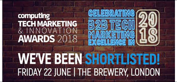 Computing Tech Marketing & Innovation Awards 2018