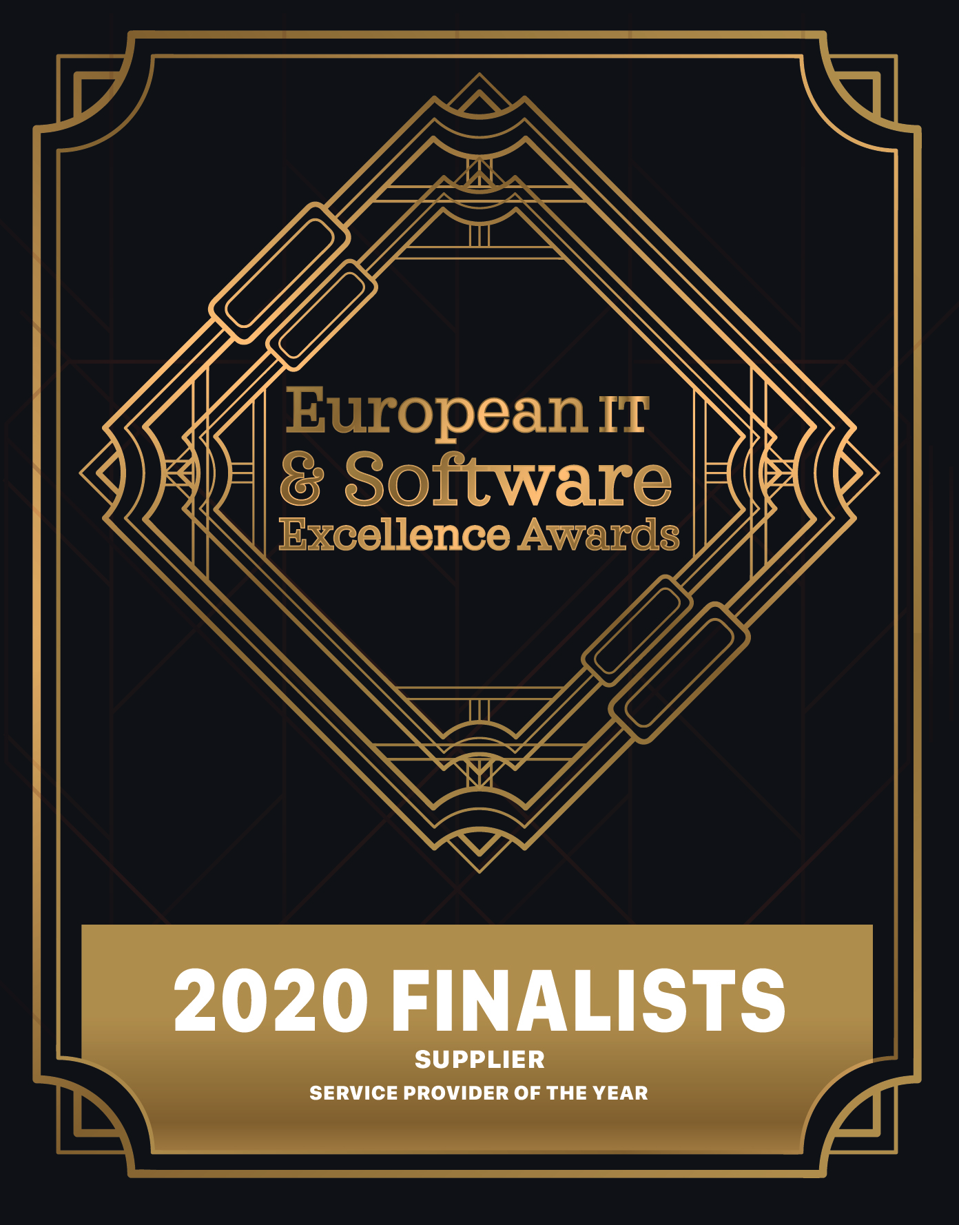 European IT & Software Excellence Awards 2020