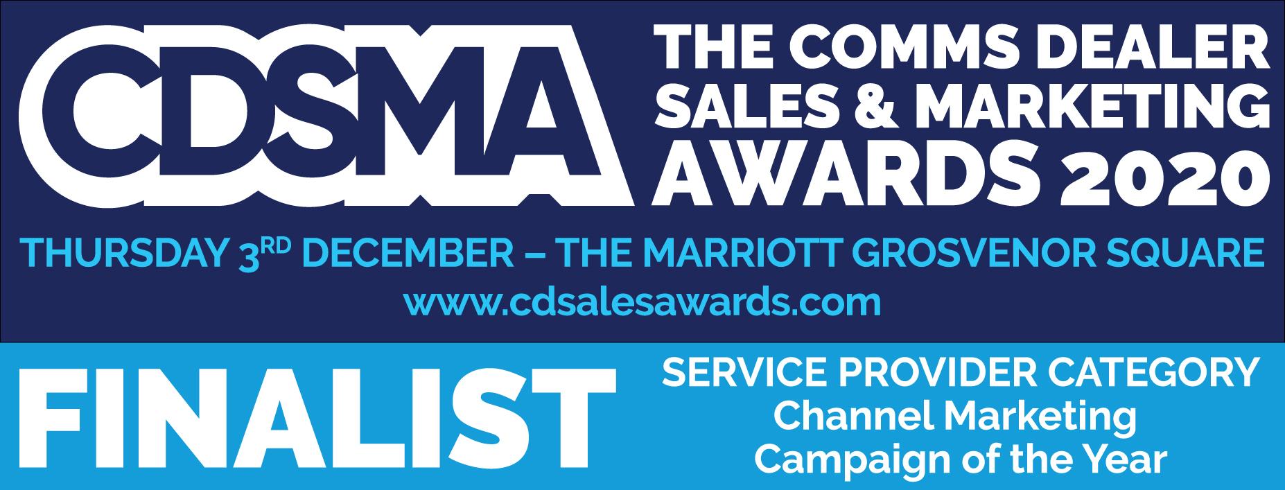 Comms Dealer Sales & Marketing Awards 2020