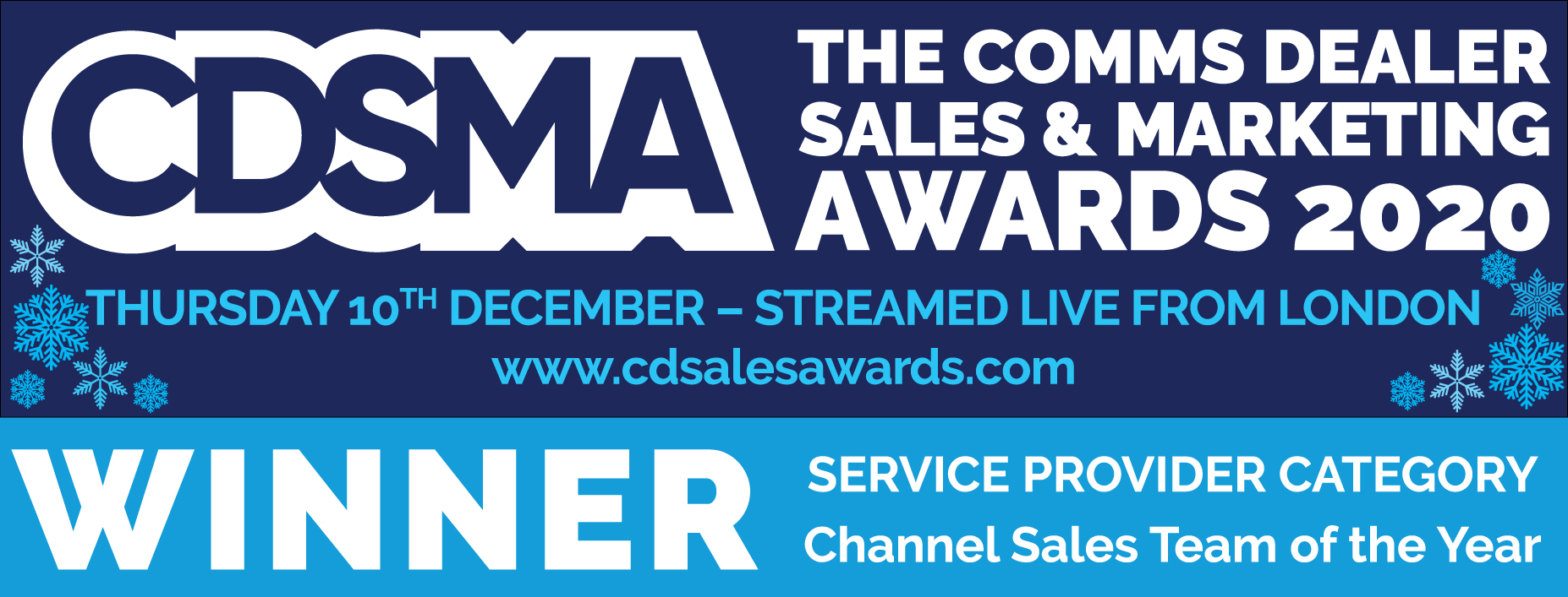Comms Dealers Sales & Marketing Awards 2020